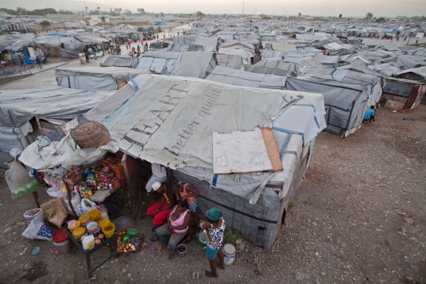 Halt evictions for people living in Haiti camps