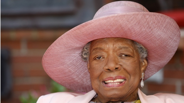 Maya Angelou celebrates Black History Month
