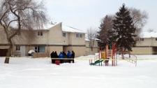 Winnipeg police were at an apartment complex