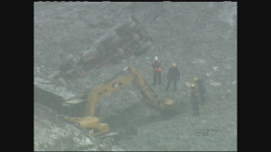 CTV Montreal: Man's body pulled from quarry