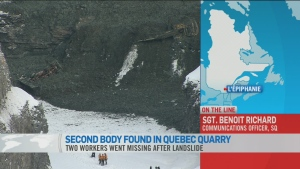 CTV News Channel: Second body found in quarry