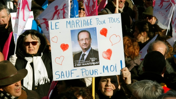 Gay marriage bill wins support of French lawmakers