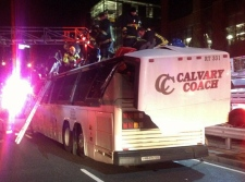 Harvard students bus crash