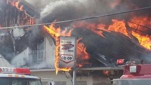 Fire Engulfs St. Albert, Ont. Cheese Factory