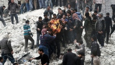 Syria airstrike Feb. 3