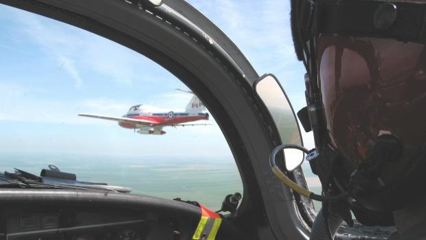 Jet pilot Snowbird