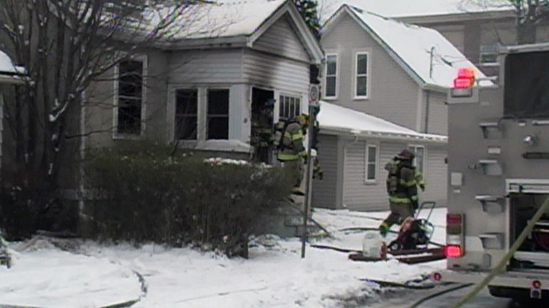 One person has died in a fire at a St. Catharines residence on Sunday, Feb. 3, 2013.