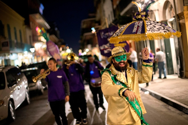 Brass band in New Orleans