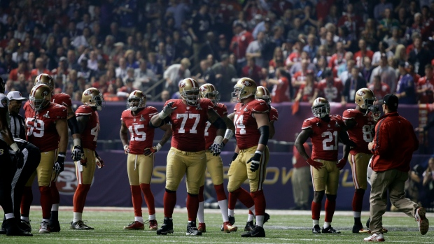 Lights go out during second half of NFL Super Bowl