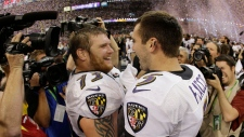 Baltimore Ravens celebrate team's Super Bowl win