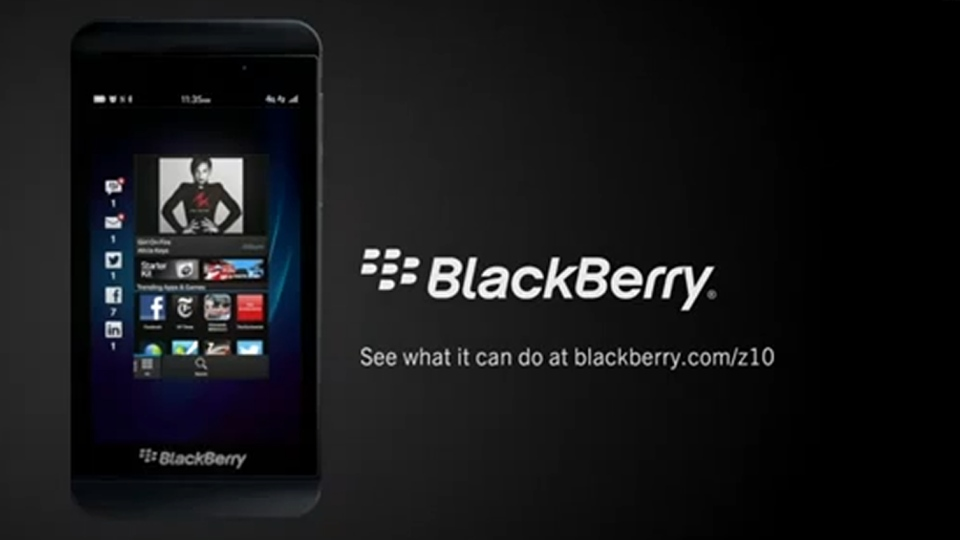 BlackBerry's Super Bowl commercial took a light look at things the new smartphone couldn't do.