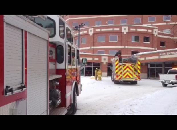 Smoke at Regina General Hospital