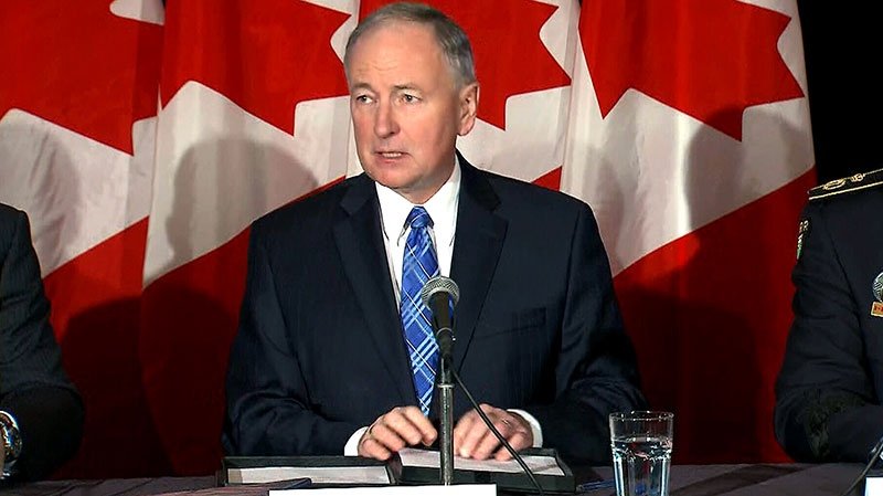 Justice Minister Rob Nicholson outlines justice priorities, Monday, Feb. 4, 2013.