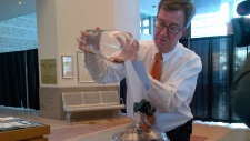 Ottawa Mayor Jim Watson launches penny drive