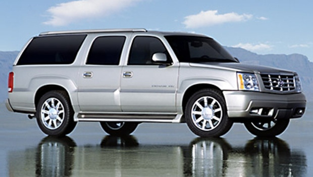 It's believed the suspects may still be in possession of a 2005 gray Cadillac Escalade Sport Pickup with an Alberta license plate number HMU 232, which looks similar to the one pictured here. Supplied.