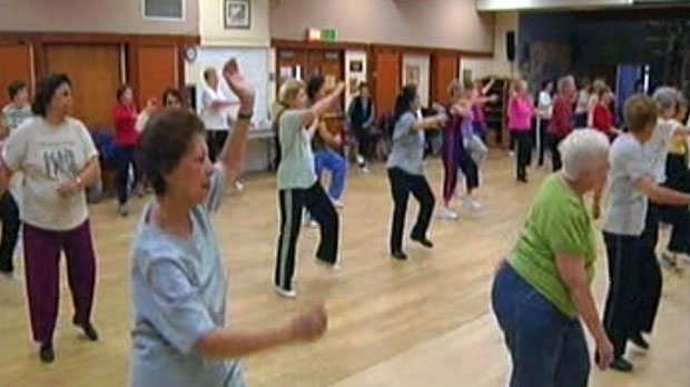 40 per cent of baby boomers aren't getting enough physical activity.