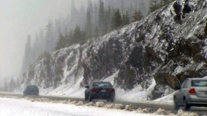 The Coquihalla Highway is seen in this file photo. (CTV)