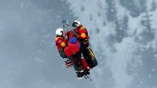 Vonn airlifted crash Super-G world champs