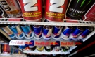 Energy drinks are shown in a store on Monday July 26, 2010 in Montreal. The Canadian Medical Association Journal is voicing alarm over the increasing popularity of highly caffeinated energy drinks among kids and teens. (Paul Chiasson / THE CANADIAN PRESS)