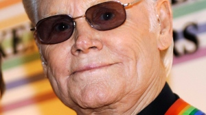 George Jones arrives for the Kennedy Center Honors at the Kennedy Center in Washington on Dec. 7, 2008. (AP / Jacquelyn Martin)