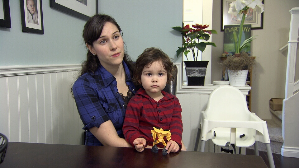 Rebecca Van Der Hijde pays $620 monthly for her two-and-a-half year old son to attend daycare three times a week.