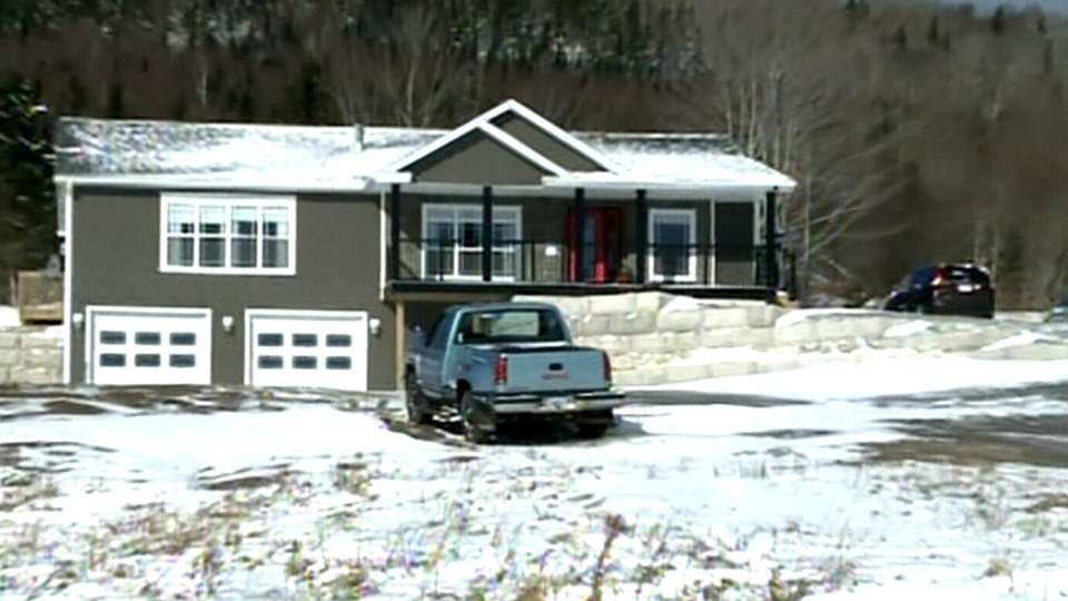 The home of David and Darlene MacNeil is seen in Mabou, N.S., Tuesday, Feb. 5, 2013.