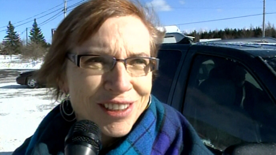 Mabou, N.S. resident Phyllis MacDonald says she was surprised to hear a family from the town had caused a flight disturbance.