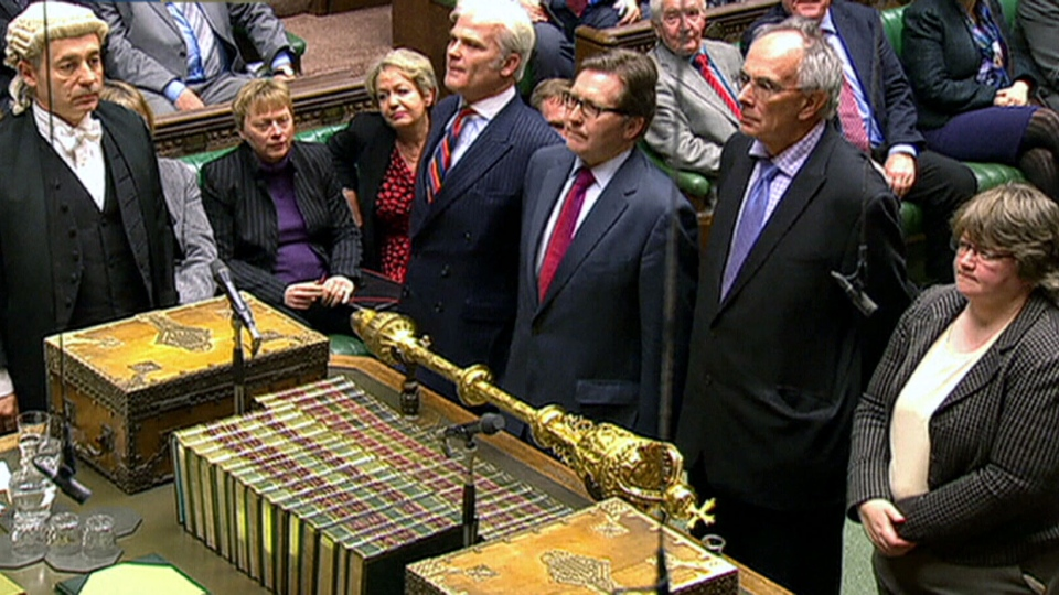 British MPs voted to legalize same-sex marriage on Tuesday, Feb. 5, 2013.