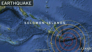 CTV National News: Solomon Islands earthquake