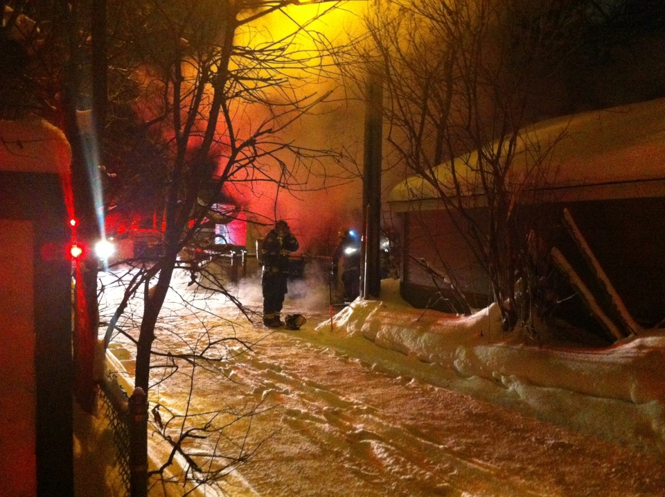 Crews respond to working fire on Buxton Rd. Wednesday morning, Feb. 6