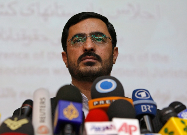 Saeed Mortazavi in Tehran on April 19, 2009.