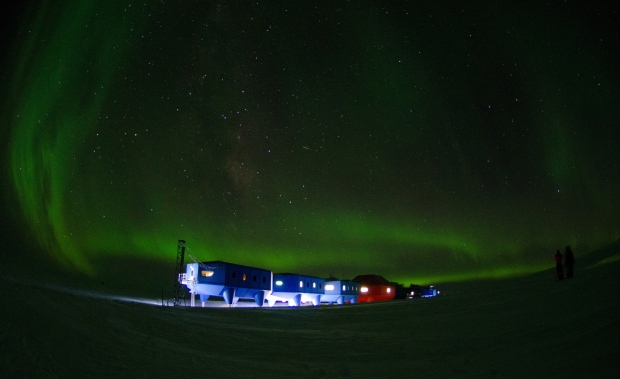 Halley VI Research Station on April 2, 2012.