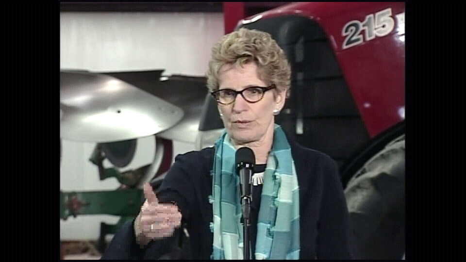 Wynne to become Ontario's agriculture minister