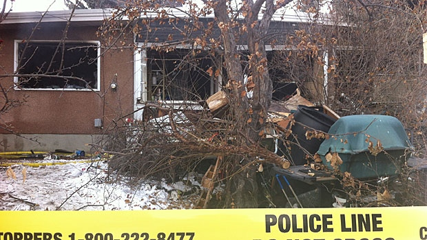 A fire at a northwest home claimed the life of a woman on Wednesday morning.