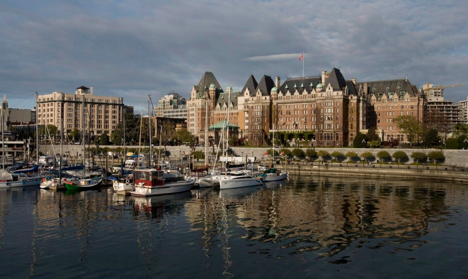 Downtown Victoria is shown in this 2008 file photo. (Deddeda Stemler / THE CANADIAN PRESS)