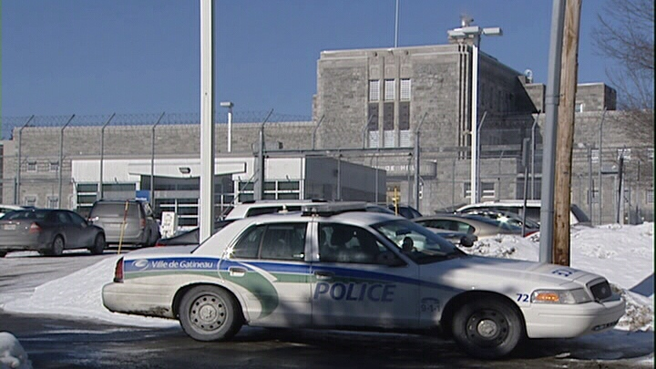 Quebec Police negotiators at Hull  jail lockdown