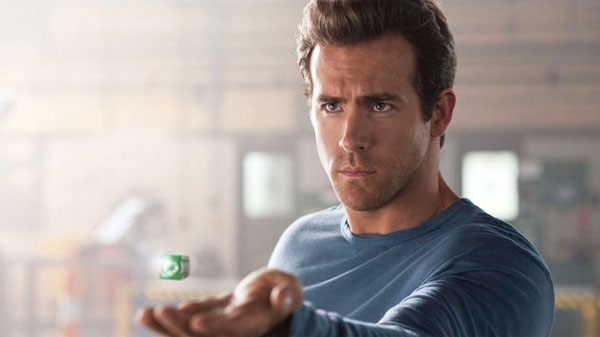 Ryan Reynolds in Warner Bros. Pictures' 'Green Lantern.'