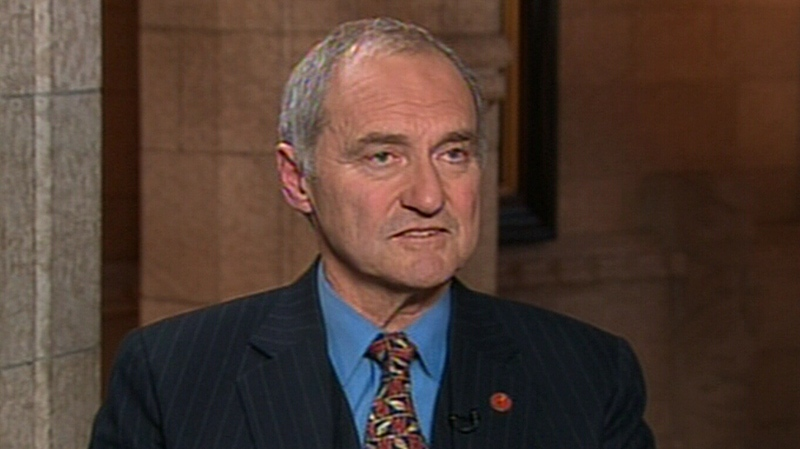 Senator Joseph Day, deputy chair of the National Finance Committee, appears on CTV's Power Play to discuss his recommendations in Ottawa on Wednesday, Feb. 6, 2013.
