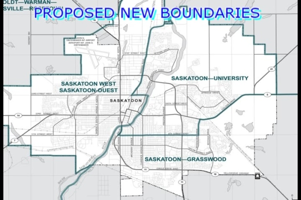 Proposed changes to federal electoral boundaries