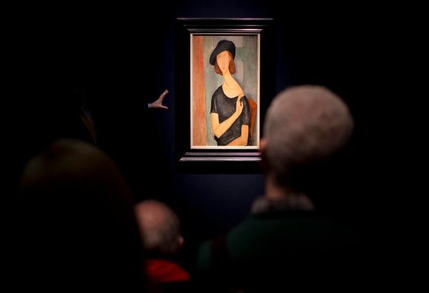 'Jeanne Hebuterne (Au chapeau)' by Modigliani
