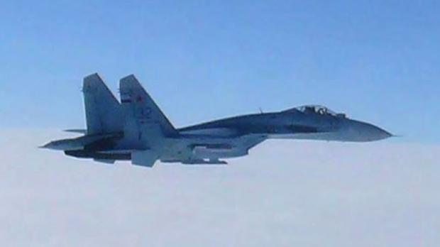 Russian airfighters Japan airspace