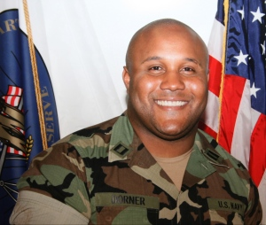 Former Los Angeles police officer Christopher Dorner, 33, is shown in this undated photo. (Los Angeles Police Department)