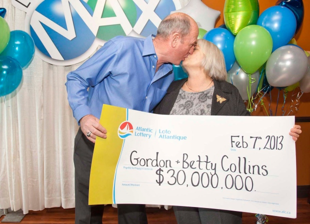 N.L. couple wins lagrest lottery ever in province