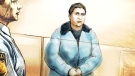 April Luckese is shown in a court sketch on Saturday, Jan. 8, 2011.