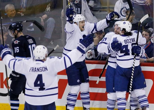 Toronto Maple Leafs' Phil Kessel