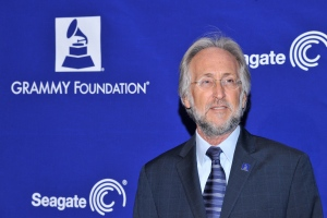 Recording Academy President Neil Portnow poses for photographers at 'Play It Forward: A Celebration of Music's Evolution and Influencers' at the Grammy Foundation's 15th Annual Music Preservation Project, Thursday, Feb. 7, 2013 in Los Angeles. (Photo by Vince Bucci/Invision/AP)
