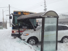 TTC bus crash