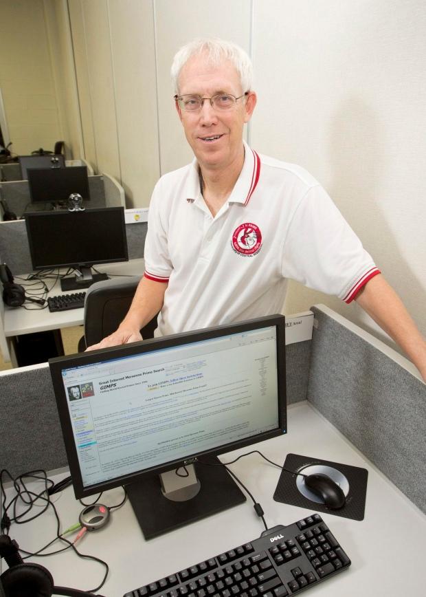 University of Central Missouri prof. Curtis Cooper