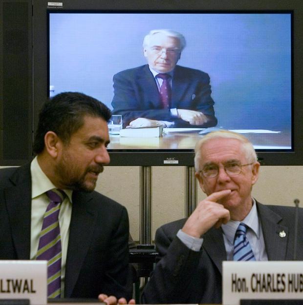 Sukh Dhaliwal (left), Charles Hubbard, Feb 14, '08