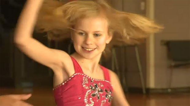 At the age of 12, Melissa Goldsmith is an accomplished DanceSport competitor